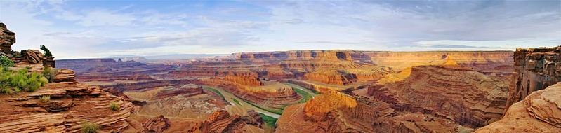 Sunrise on Dead Horse Point, Moab, Utah