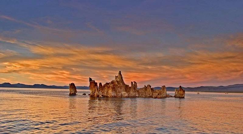 Sunset  Mono Lake, Mono Lake, Ca.