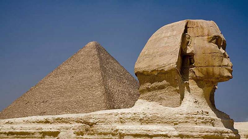 Pyramid and Sphinx, Cario, Egypt