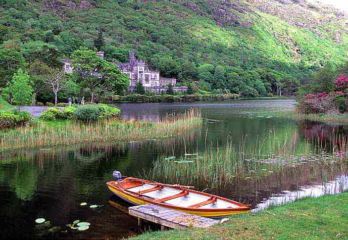 Kylemore Abbey, Ireland