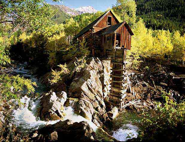 Old Crystal Mill, Marble, CO.