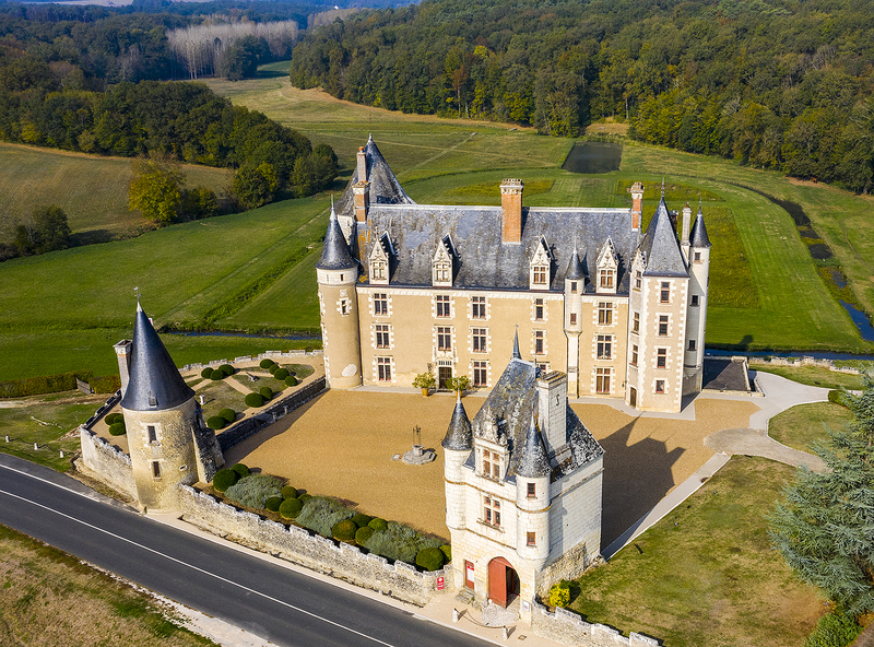 Chateau de Montpoupoo, Loire Valley, France