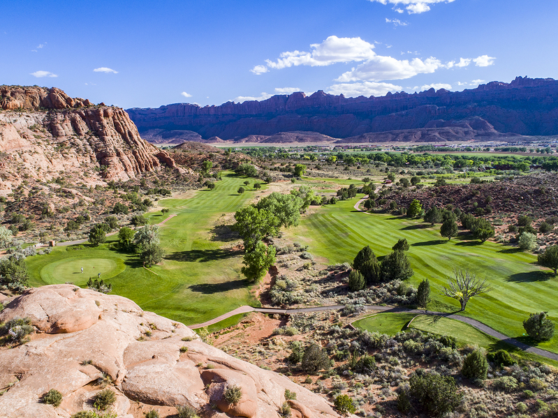 Moab, Utah golf course