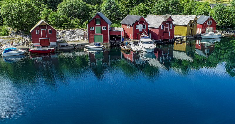 Norway fishing houses
