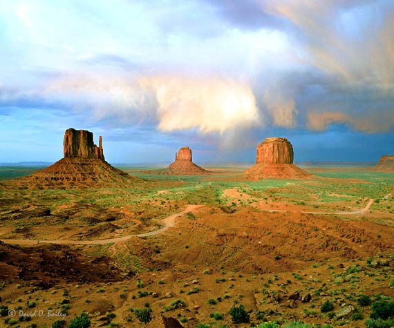 Approaching Storm, Monument Valley